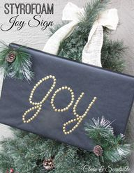 Joy sign made from S