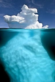 Split view iceberg,