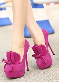 violet heels