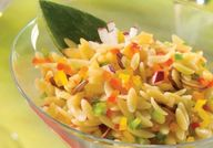 Rainbow Orzo Salad,