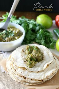 Pork Chile Verde by