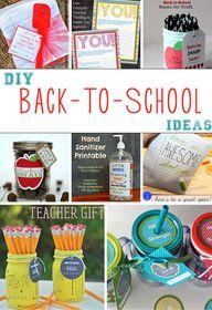 8 DIY Back-To-School