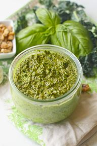 Kale Walnut Pesto