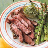 Flank Steak with Sal