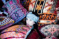 a sea of Moroccan pi