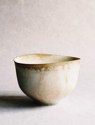 White Tea Bowl by Ta