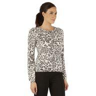 Wool Mix Leopard Pri