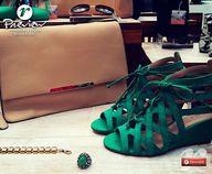 A sandália esmeralda