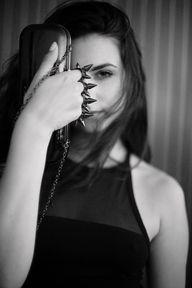 Black & White. Amy M