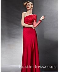 Red Satin One Should