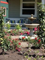 Gardens, Flowerbeds