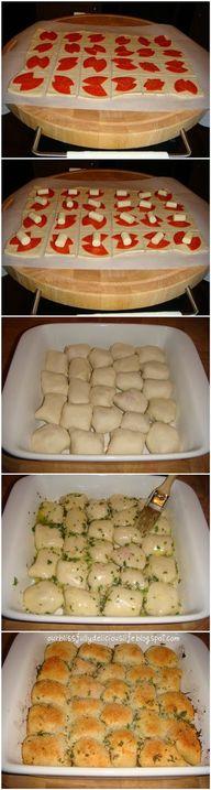 Stuffed Pizza Rolls!