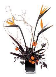 halloween flowers -