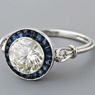 Vintage Sapphire Rin