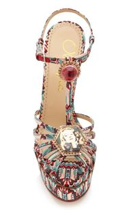 Multi Deco Leading Lady Sandal by Charlotte Olympia #bohemian #chic