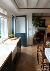 farmhouse kitchen, h