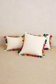Tassel Pillow - Anth
