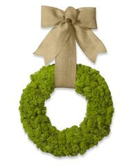 Moss Wreath with Bur...