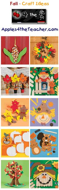 Fun Fall crafts for