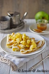 Caramel Apple Crepes