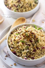 Quinoa Salad with Pi