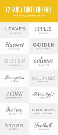 14 Fancy Fonts for F