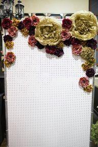 Floral photo backdro