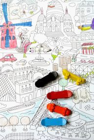 coloring Paris with