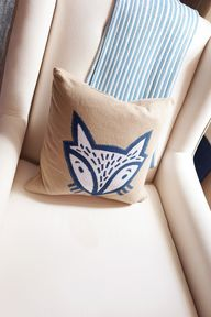 Fox Accent Pillow -