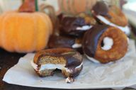 Pumpkin Cream Donut
