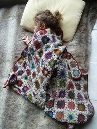 Crochet Afghan patte