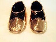 #Babyshoes #copper #...