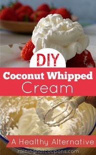 DIY Coconut Whip Cre