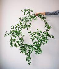 greenery wreath via