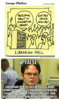 Librarian Hell?