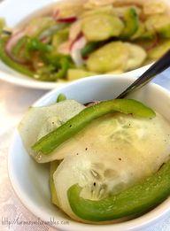 Cucumber Salad ~ Per