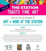 Art + Wine at the St