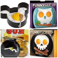 FUNNY EGG MOLDS AND