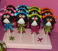 Penguin Cake Pops pe
