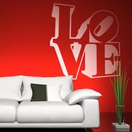 Love wall decals.
