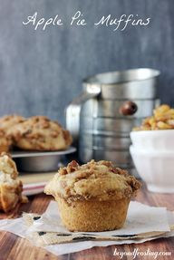 Apple Pie Muffins |