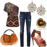Tribal Chic...I love this shirt.