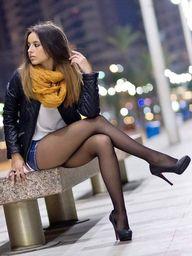 Black #nylons always