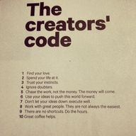 The creators' code b