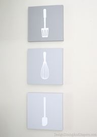 Ombre Kitchen Wall A