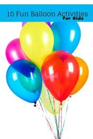 10 Fun Balloon Activ