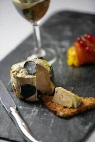 Foie gras au cacao e