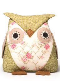 Rose Owl Doorstop, £