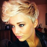 Pixie Haircut with L