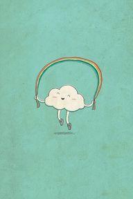 happy cloud :)